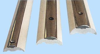 Basisleiste für Scheuerleisten aus Edelstahl