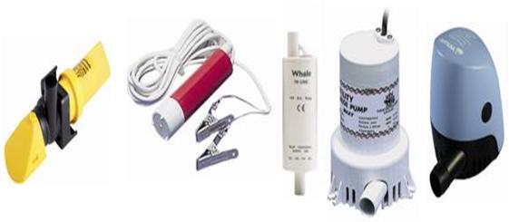 Pumpen von der Firma Whale und LVM