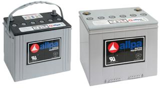 allpa AGM Schiffsbatterien