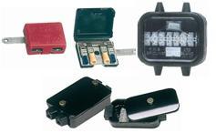 Verteilerkasten Batterie-Anschlüsse