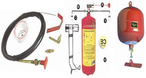 Automatik Löscher und Feuerlöschanlagen