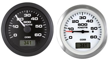 GPS Speedo mit Kompass- Kursanzeige
