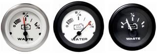 Wasserstandanzeige Schmutzwasseranzeige
