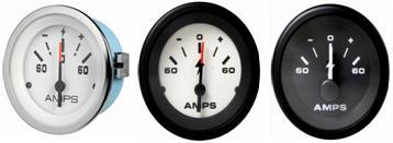 Amperemeter 60-0-60
