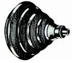 Kabeldurchlassring aus ABS