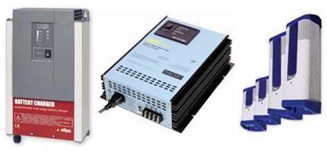 Ladegeräte Trenndiode Umrichter Relais