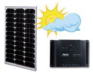 Solarmodule mit Regler