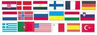 Länderflaggen 500x750mm