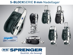 HS Sprenger 8mm S-Block Serie Nadellager