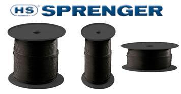 Gummiseil schwarz 3 bis 8mm