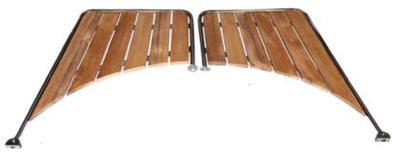 Badeplattformen für Boote mit rundem Heck