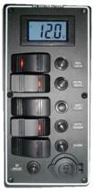 Schalttafel digitalem Voltmeter 9 bis 32 V