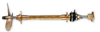Propellerwellenanlage Set SET-K3 mit Stevenrohr aus Bronze