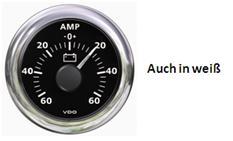 Ampèremeter -60A + 60A VDO ViewLine