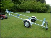Bootstrailer Marlin BT 750 kg Kipptrailer Ungebremster Bootsanhänger