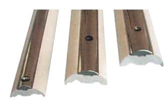 Scheuerleisten - Basisleisten und Edelstahl-Profile Höhe 35 bis 60mm