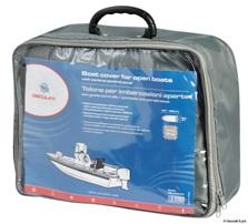 Persenning für Boote mit Steuerstand oder Windschutzscheibe