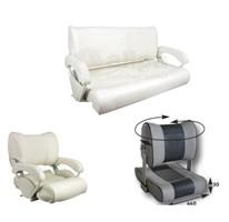 Bänke und Wasserski Sitze