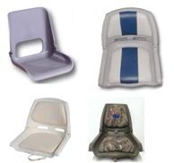 Kunststoff- Klapp Sitze