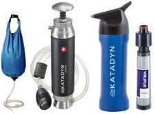 Wasserfilter Katadyn Systeme