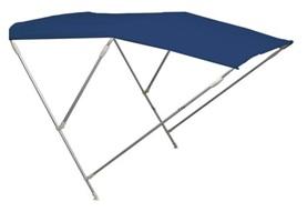 Sonnentop Wilma mit 3 Bögen ALU 20mm Höhe 110cm blau