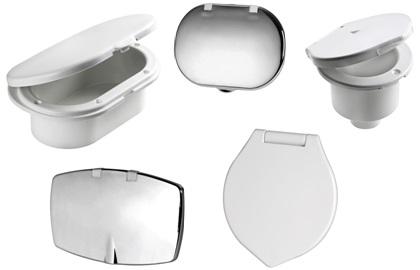 Ersatzteile für Duschboxen Gehäuse und Klappen