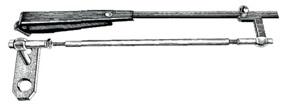 VA-Stahl Parallelogrammarm für Scheibenwischer