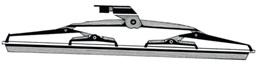 Scheibenwischerblätter mit Schaufel
