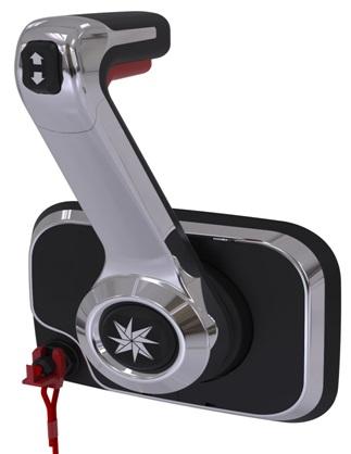 Xtreme Schaltbox Fernbedienung Port Mount Control Chrom