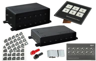 Elektrische Schalttafel Touch Control