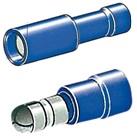 Stecker und Buchse Zylinderpole