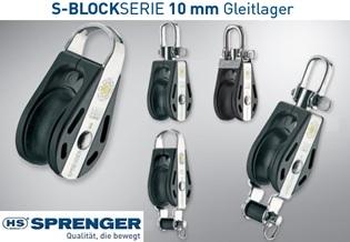 HS Sprenger 10mm S-Block Serie Gleitlager