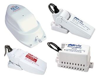 RULE Sensoren und Bilgepumpenschalter