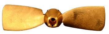 Faltpropeller Bronze verschiendene Modelle und Größen