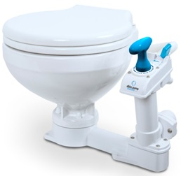 albin Pump Marine Toilette manuell