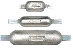 Anoden Aluminium bis 2,2kg