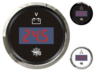Digitales Voltmeter 8 bis 32 V