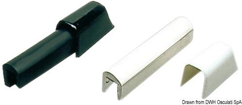 L-Profilleiste aus PVC inkl. Halterung