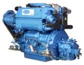 Schiffsdieselmotor Solé SK-60 Basis ist ein Kubota Motor, 4 Zylinder 60PS  44.5kW