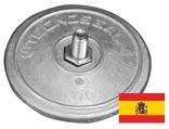 Scheibenanoden spanischer Typ  Serie E