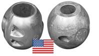 Anode Shaft USA Type Kugelform Tecnoseal