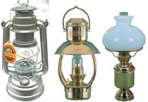 Petroleum Lampen auch elektisch Ausführung