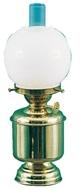 Tischlampe Opalkugel Petroleum und elektrisch