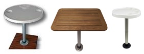 Tische und Tischplatten für ihr Boot