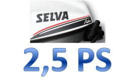 Selva Aussenbordmotor 2,5PS