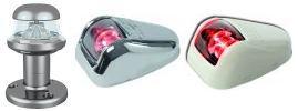 Navigationslichter LED Serie ORIONS für Boote bis zu 20m mit RINA