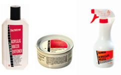 Acrylglas Pflege Produkte