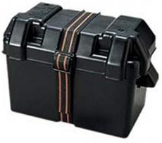 Batteriekasten Batteriegehäuse für Batterien Innen 330 x 178 x 230mm Höhe