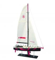 Holz-Modellboot OCEAN RACE Maße 45 x 11,5 x 78 cm