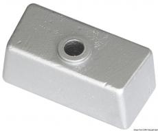 Würfelförmige Fußanode 65x29x27mm Magnesium